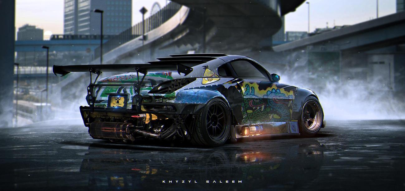 350z by The--Kyza