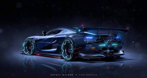 Koenigsegg agera Collaboration by The--Kyza