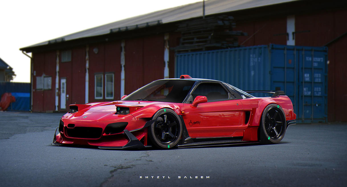 Nsx By The Kyza On Deviantart