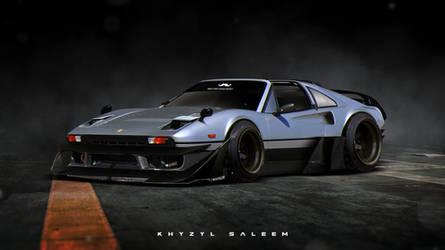 Ferrari 308  Roughed Up
