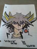 Yusei Fudo Colored by Bakugan5Ds
