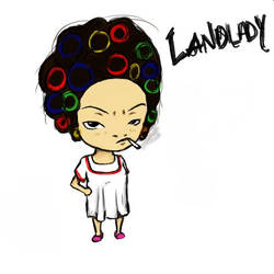 Kung Fu Hustle: Landlady by TelephoneWire