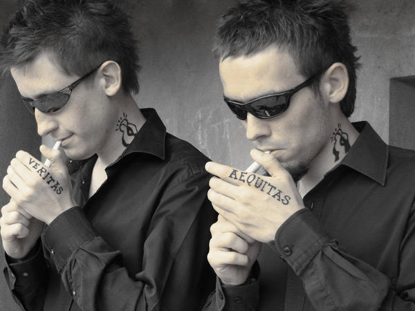 Boondock saints by me by borufka on deviantart for Boondock saints hand tattoos