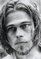 Brad Pitt by NoName-Face