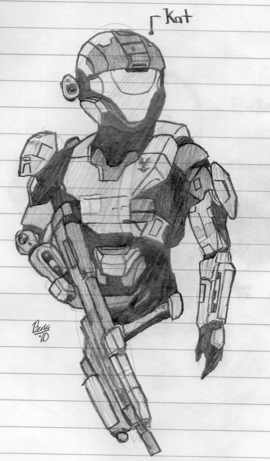 how to draw halo characters