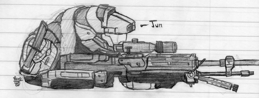Los mejores dibujos de Halo Reach (para mi)