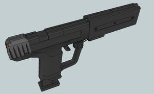 M6SOCOM Variant 3-4 by Izaak94