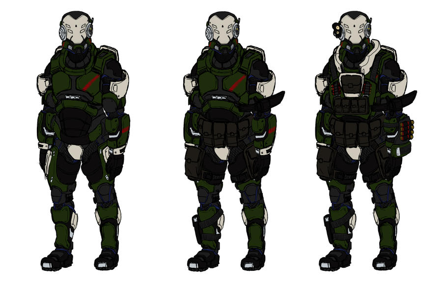 Project: Sentinel Armor by Izaak94