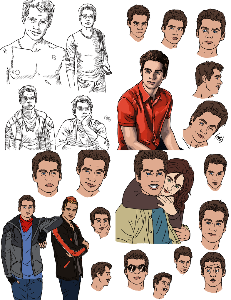 Tyler Practice Sketchdump by Izaak94