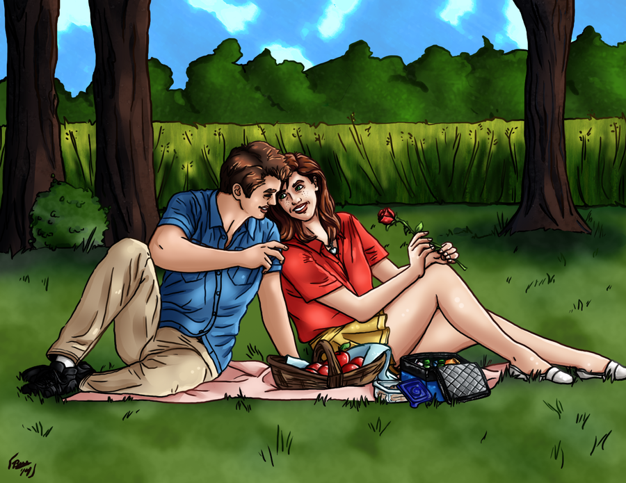 Picnic at the Park by Izaak94