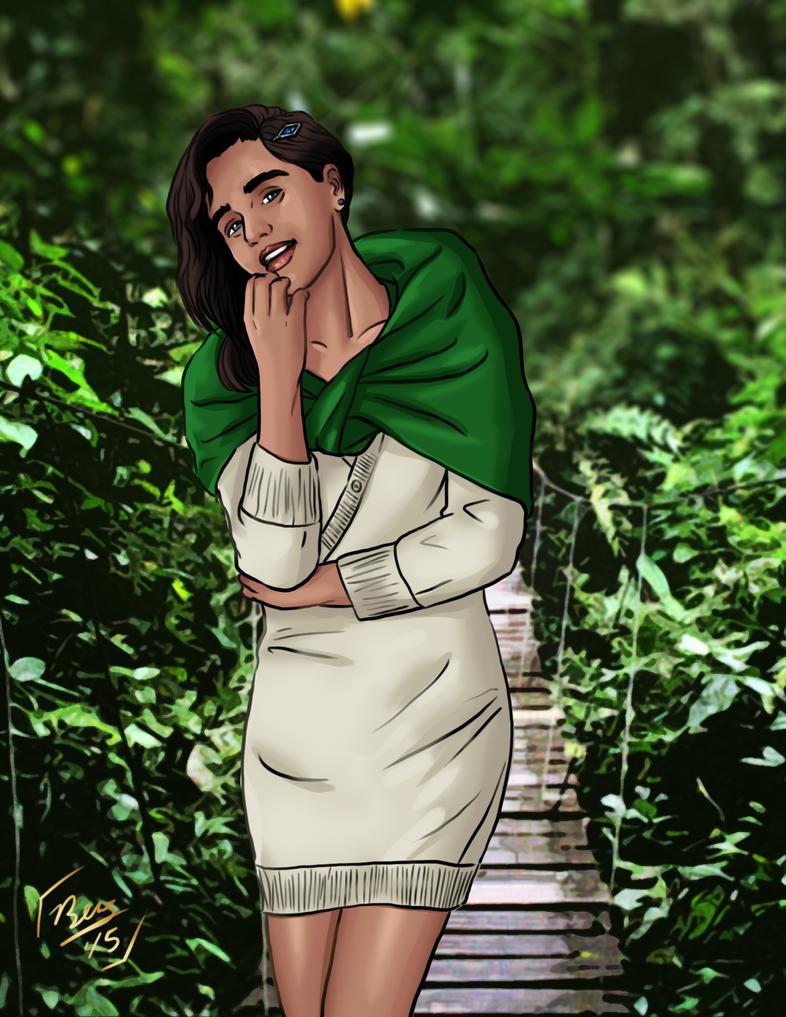 The Bolivian Jungle Princess by Izaak94
