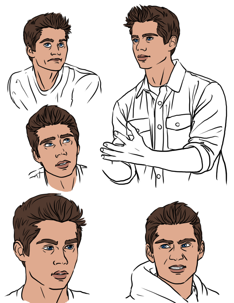 Profile Practice 010 Expressions by Izaak94