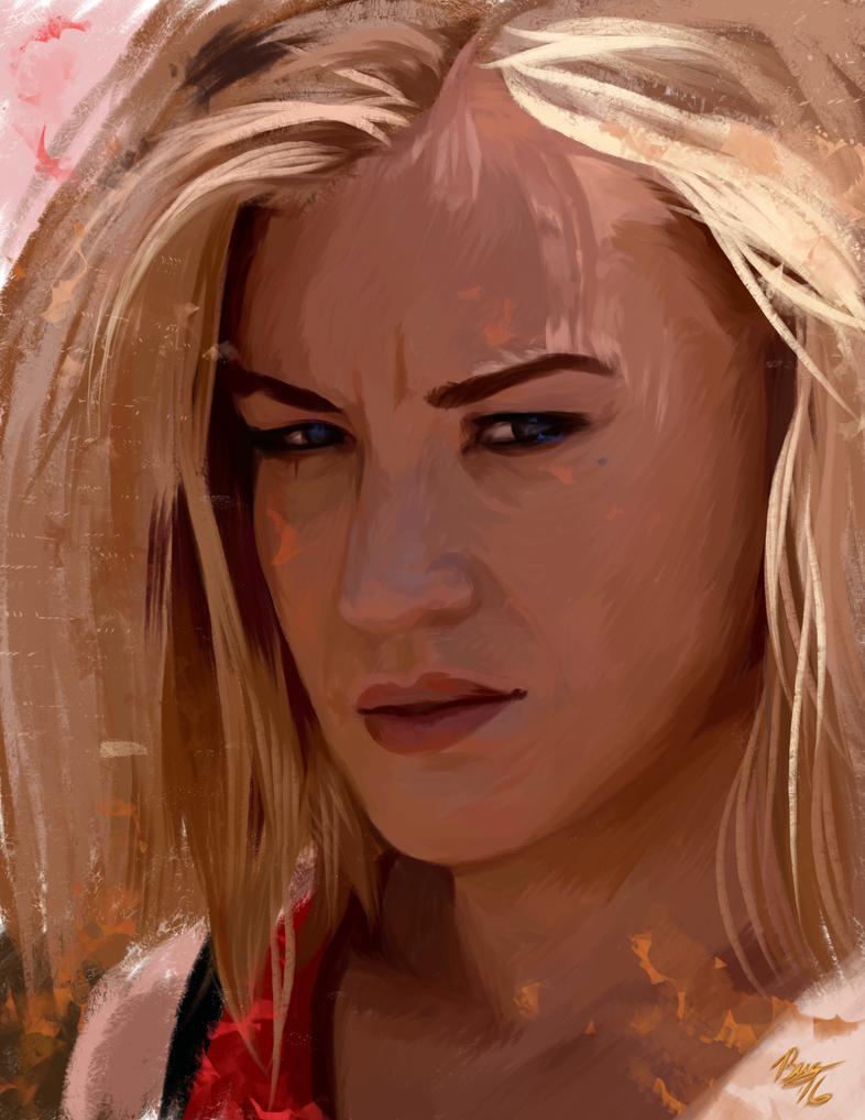 Yvonne Study by Izaak94