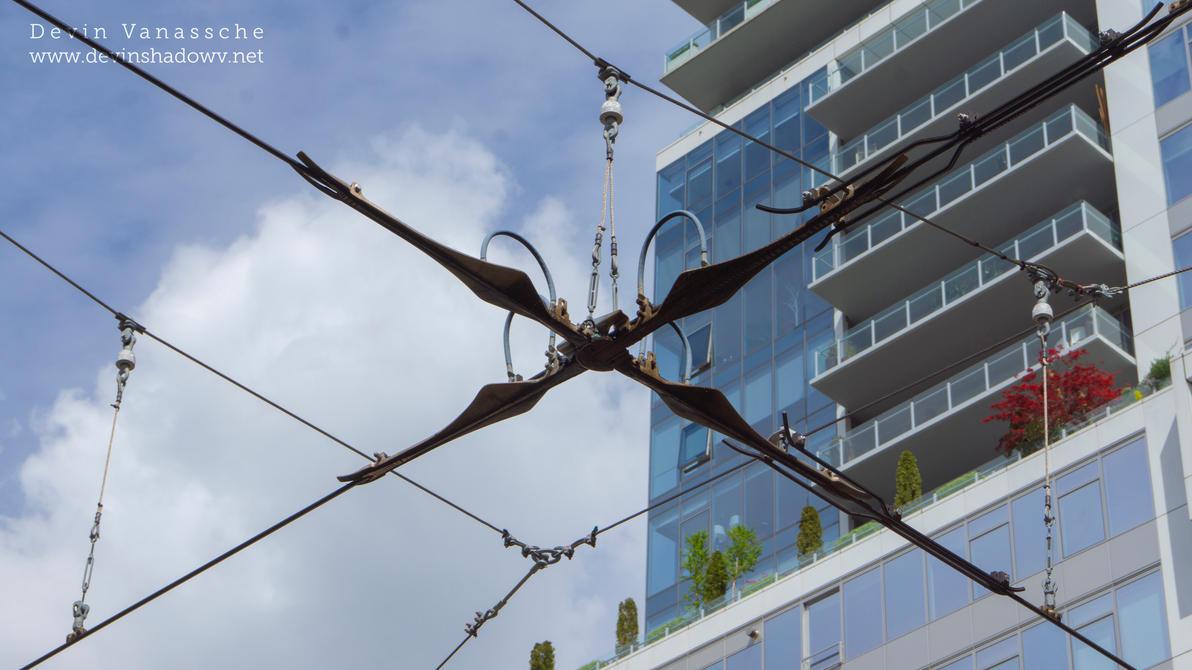 wires in the air by DevinShadowV