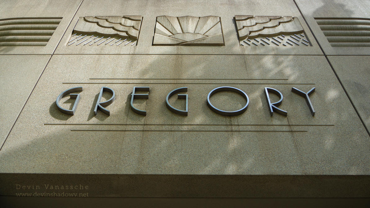 Gregory logo by DevinShadowV