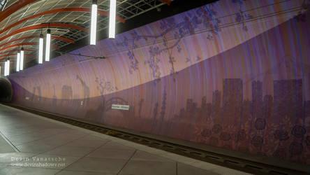Purple tunnel by DevinShadowV
