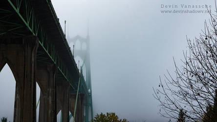 St. John foggy bridge widescreen