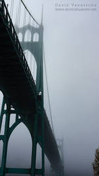 St. John foggy bridge by DevinShadowV