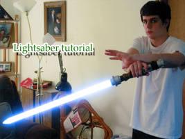 Lightsaber tutorial by DevinShadowV