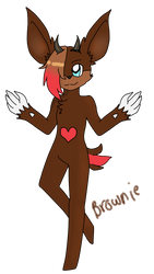 Brownie for starthecutecat2006 by Crossing-Dreamer