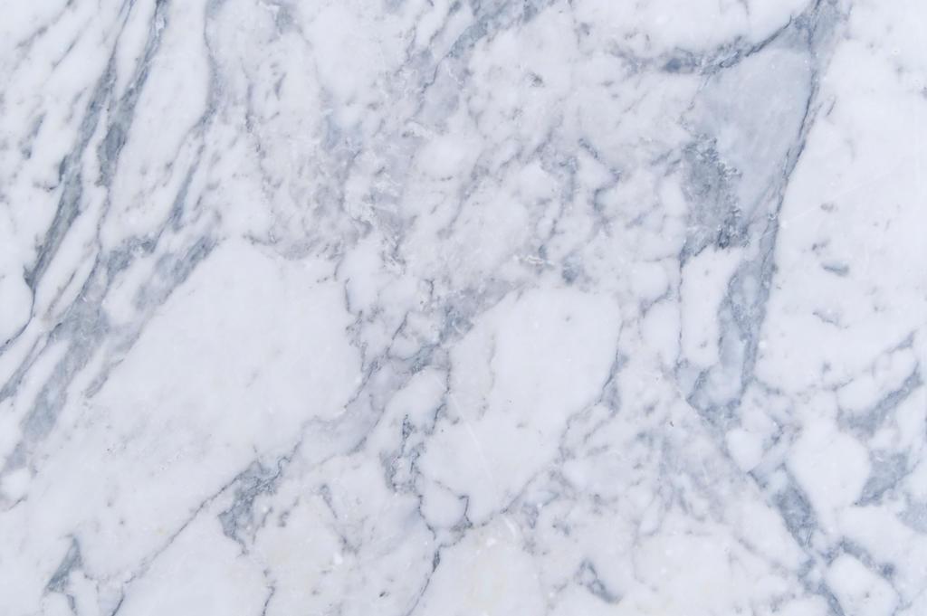 White Marble Slab Kitchen Backsplash