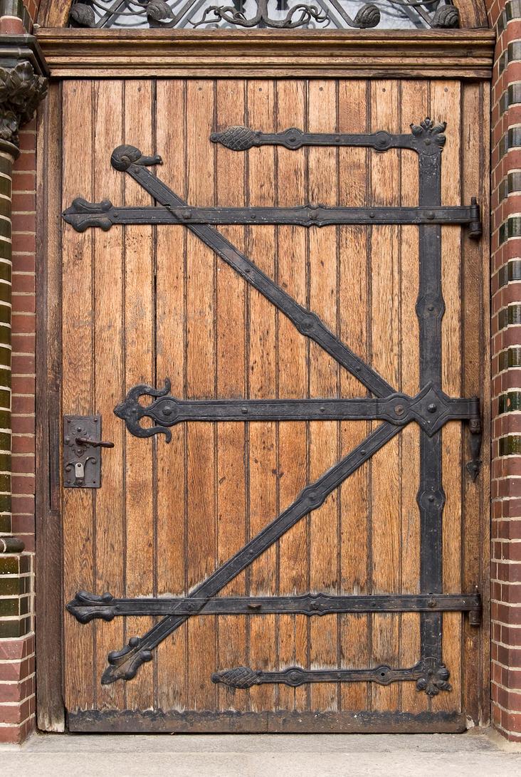 Medieval Door Right Texture By Goodtextures On Deviantart