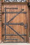 Medieval Door Left Texture