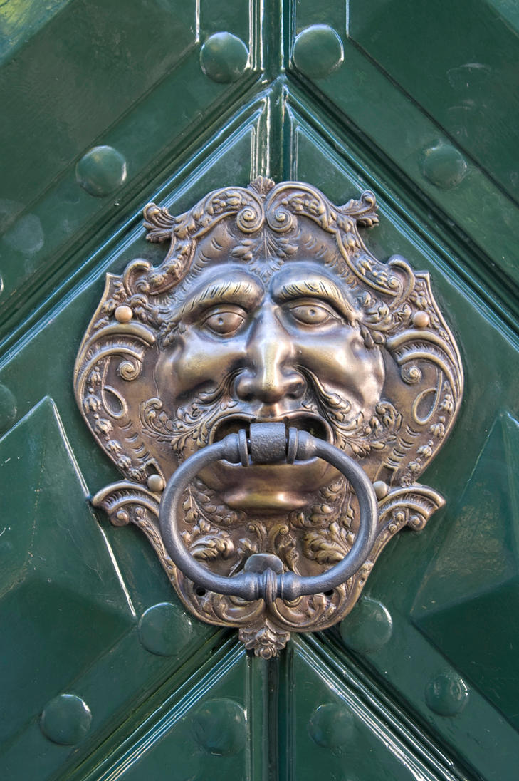Ornate Doorknocker Texture by goodtextures