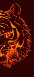 Sunlight Tiger Scetch - PS by Elskovsmaskinen
