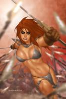Red Sonja by ArtbroSean