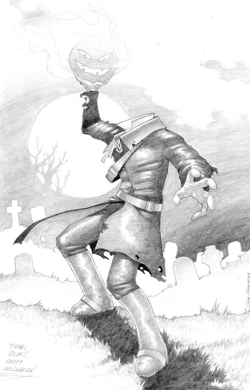 Headless Horseman by ArtbroSean