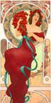Nouveau Girl by ArtbroSean