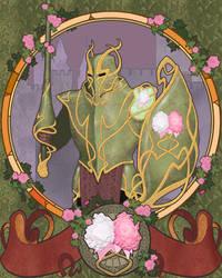 Nouveau Knight by ArtbroSean