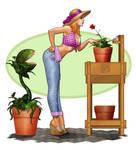 Lisa's Planting Peril