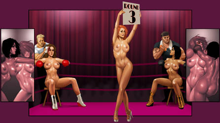 Foxy Boxing with Lana by ArtbroSean