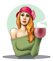Hot Coffee by ArtbroSean