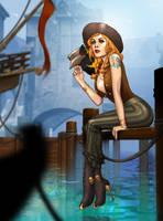 Sittin' on the Dock of the Bay by ArtbroSean