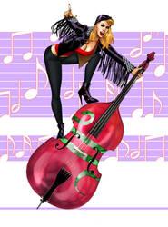 Lisa Cranks up the Bass