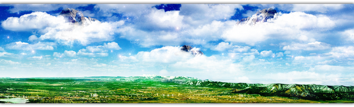 Cloudy Panorama by BlisSisGooD