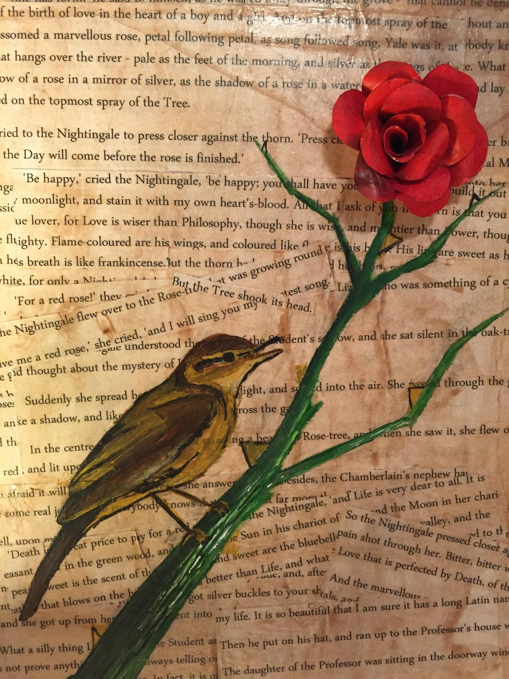 the nightingale and the rose analysis on symbols