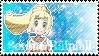 PC | Serene-Rainfall Fan Stamp by KirbyTiffTuff4ever