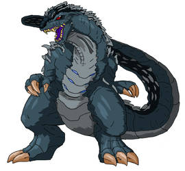 Godzilla V2 by ABSOLUTEWEAPON