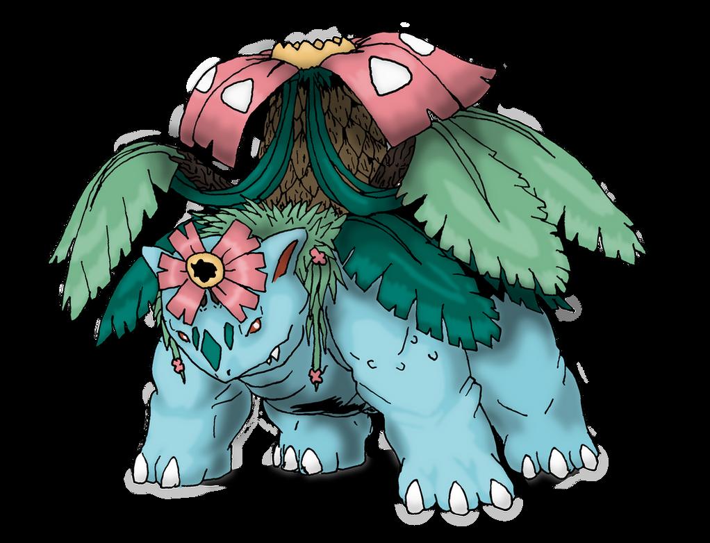 Pokemon Mega Venusaur Coloring Pages Images | Pokemon Images