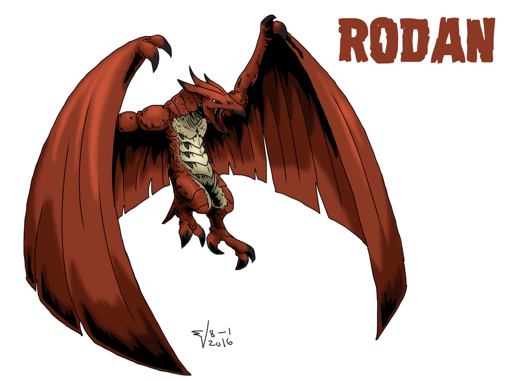 RODAN by ABSOLUTEWEAPON on DeviantArt