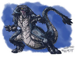 KIMAERA - ARBITHIS - The Serpent by ABSOLUTEWEAPON