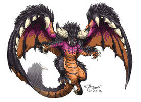 Monster Hunter - Nergigante by ABSOLUTEWEAPON