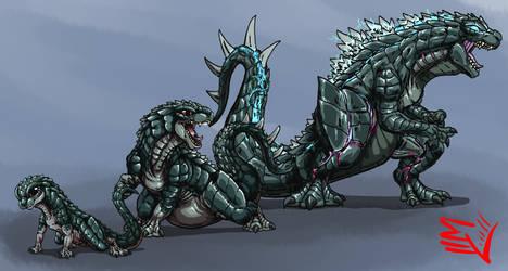 Godzilla Absolute - GOJI Size Chart