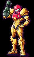 Metroid - Samus Aran - Power Suit