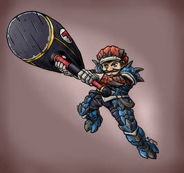 Monster Hunter - Mario