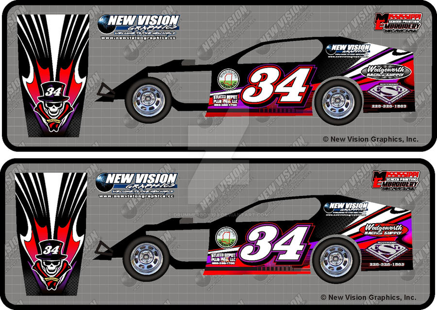 race car graphic design templates - 34 modified race car wrap by drummerboy398 on deviantart